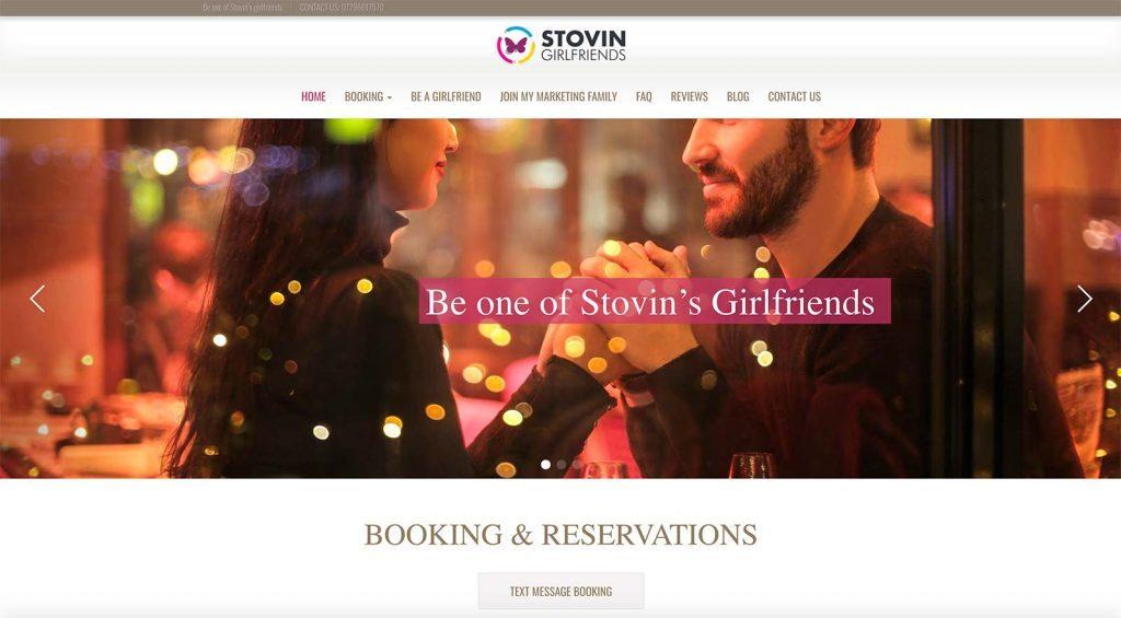 Stovin girlfriends